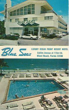 Ag T Blue Seas Luxury Ocean Front Resort Motel Miami Beach Florida