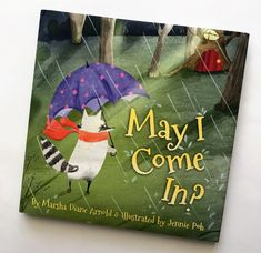 May I Come In by Marsha Diane Arnold Raccoon is afraid to be alone in his home during a storm. But when his friends Possum, Quail, and Woodchuck, tell him they have no room in their homes, Raccoon begins to worry. He finally spies a bright light at a house in the storm. a tender story that will surely have your child asking you for one more read. Beautiful illustrations make for an excellent one-on-one storytime.