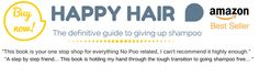 No Poo, no toxins, no worries (Shampoo free for two years!) | Lulastic and the hippyshake