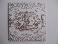 Handmade Wedding Day Card