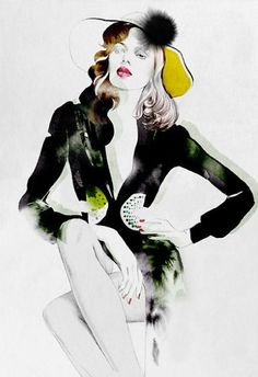 Cecilia Carlstedt Fashion Illustrations