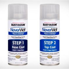 Rustoleum NeverWet Multi Surface Liquid Repelling Treatment