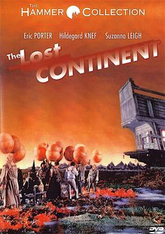 THE LOST CONTINENT DVD (ANCHOR BAY)