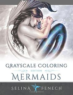 Mermaids Grayscale Coloring Edition (Fantasy Coloring by ... http://www.amazon.com/dp/0994355483/ref=cm_sw_r_pi_dp_CLLsxb15V2K1P