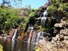 Cachoeira Almécegas na Chapada dos Veadeiros