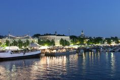 Pori Jazz Festival in Finland. Harbor Town, Jazz Festival, Archipelago, Best Cities, Summer Nights, Old Pictures, Beautiful Places, Beautiful Scenery, Tourism