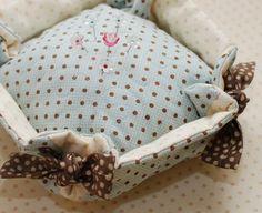 The Pattern Basket - Deep Dish Pincushion