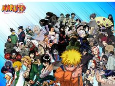 Naruto Main characters | Flickr - Photo Sharing!