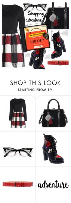 """""""Shopping adventure"""" by puljarevic ❤ liked on Polyvore featuring Penny Loves Kenny, Dsquared2, contest, shopping and rosegal"""
