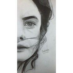 Kaya Scodelario drawing done by myself in pencil #pncildrawing #kayascodelario