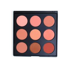 9N - THE NATURALLY BLUSHED PALETTE #morphe