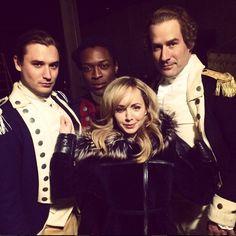 TURN: Washington's Spies. Season Two.  April 13.