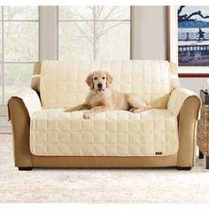 dog couch covers | Home Dog Beds Sure Fit Soft Suede Waterproof Sofa Throw Cover