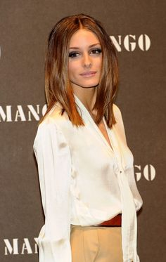 Olivia Palermo hair.  becca, i love this color!  :)