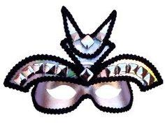 Warrior Princess Silver Masquerade Mask
