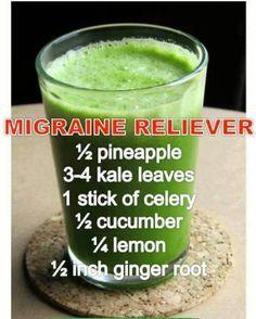 Migraine Reliever Smoothie