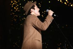 Austin Mahone performs at the Lord & Taylor NYC 2015 Holiday Windows Unveiling