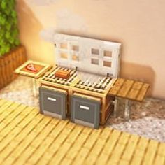minecraft bbq grill ~ minecraft grill - minecraft grill ideas - minecraft bbq grill - grill in minecraft - how to make a grill in minecraft - minecraft outdoor grill - grille minecraft - grille point de croix minecraft