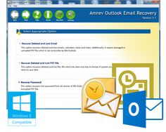 Restore your deleted or lost emails contact, tasks, calendar