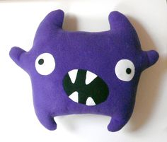 via en.dawanada.com Other – Zumba the monster sewing pattern - PDF – a unique product by Mariska on DaWanda