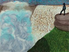 Thunderstruck (David Hockney (British, b. 1937), Dettifoss from...)