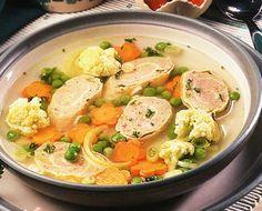 Sup rolade ayam