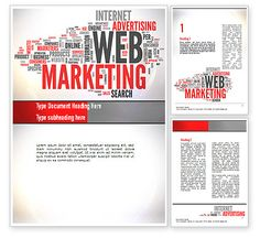 Web Marketing Word Cloud Word Template http://www.poweredtemplate.com/word-templates/careers-industry/10989/0/index.html