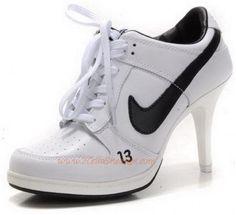 Nike Dunk Low High Heel White Black K031522