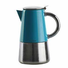 Typhoon® Novo Espresso Maker – Teal  - From Lakeland