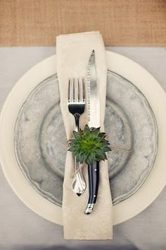 Great place setting.