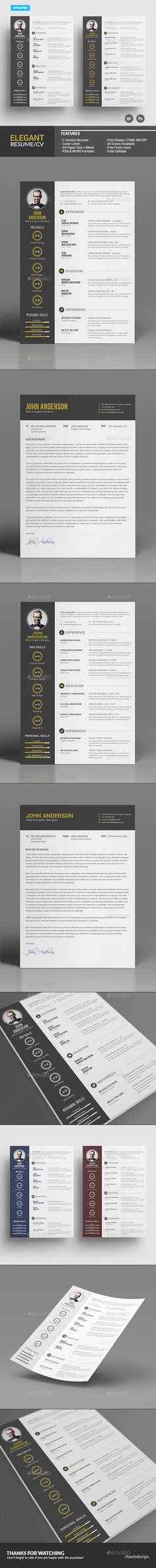 Photography Resume Portfolio Pack Portfolio Pinterest - photography resume template