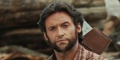 Hugh Jackman credits Wolverine for turning him into a Hollywood . Hugh Jackman, Goatee Styles, Best Beard Styles, X Men, Famous Celebrities, Hollywood Celebrities, Hugh Wolverine, Wolverine Movie, Beard Growth Kit