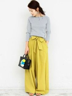 Chartreuse pants