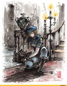 Resident Evil,Игры,Jill Valentine
