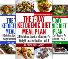 Ketogenic Diet Recipes - The 7-Day Ketogenic Diet Meal Plan (3 Book Series) * Click image for more details. (This is an affiliate link) #KetogenicDietRecipes
