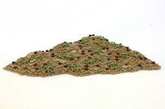 This tutorial is focused on tilting plates to create hills and mounds for your LEGO landscapes.