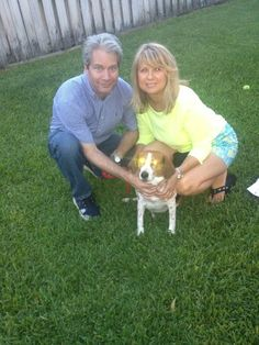 Roxie and her forever family....FOSTER FAILURE!!! Sometimes you plan to foster, but you fail and end up adopting!!! Happy ending for all!