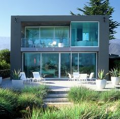 modern beach house exteriors | Sullivan Beach House