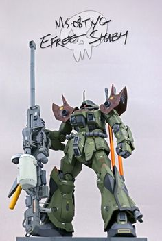 MS-08TX/G Efreet Shabh by ZKRLS   Gundam Century