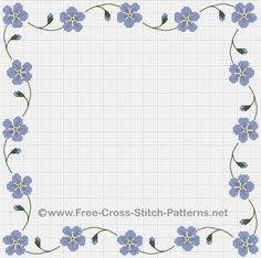 Cross Stitch Borders by X Stitching, via Flickr