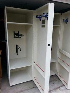 Tack room lockers
