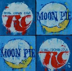 An RC Cola & a Moon Pie - reminds me of Lewis Grizzard - Sometimes I do get a craving for moon pies and RC colas.
