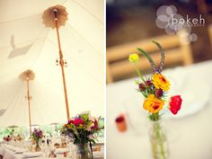 farm wedding | table setting