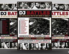 "Check out new work on my @Behance portfolio: ""DJ Battle Flyer Template V4"" http://be.net/gallery/40874527/DJ-Battle-Flyer-Template-V4"