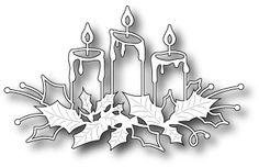 Memory Box Glowing Candles Die