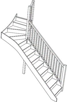 S8W31N Winder Staircase Right Handed