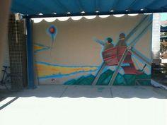 Mural feito na UFS