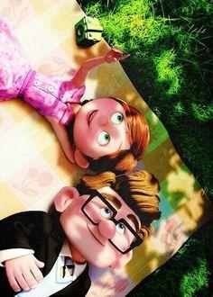 Up - a Disney Pixar Masterpiece Up Pixar, Disney Pixar, Disney Up, Walt Disney, Animation Disney, Disney Couples, Pixar Movies, Disney And Dreamworks, Disney Magic