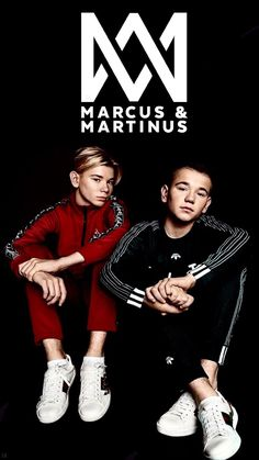 ❤️Marcus and Martinus wallpaper insta: M Wallpaper, Love Twins, Anime Music, Twin Boys, Cute Guys, Persona, Singer, My Love, Celebrities