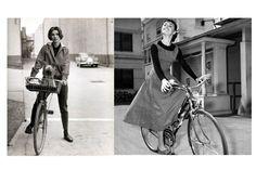 Картинки по запросу audrey hepburn bicycle